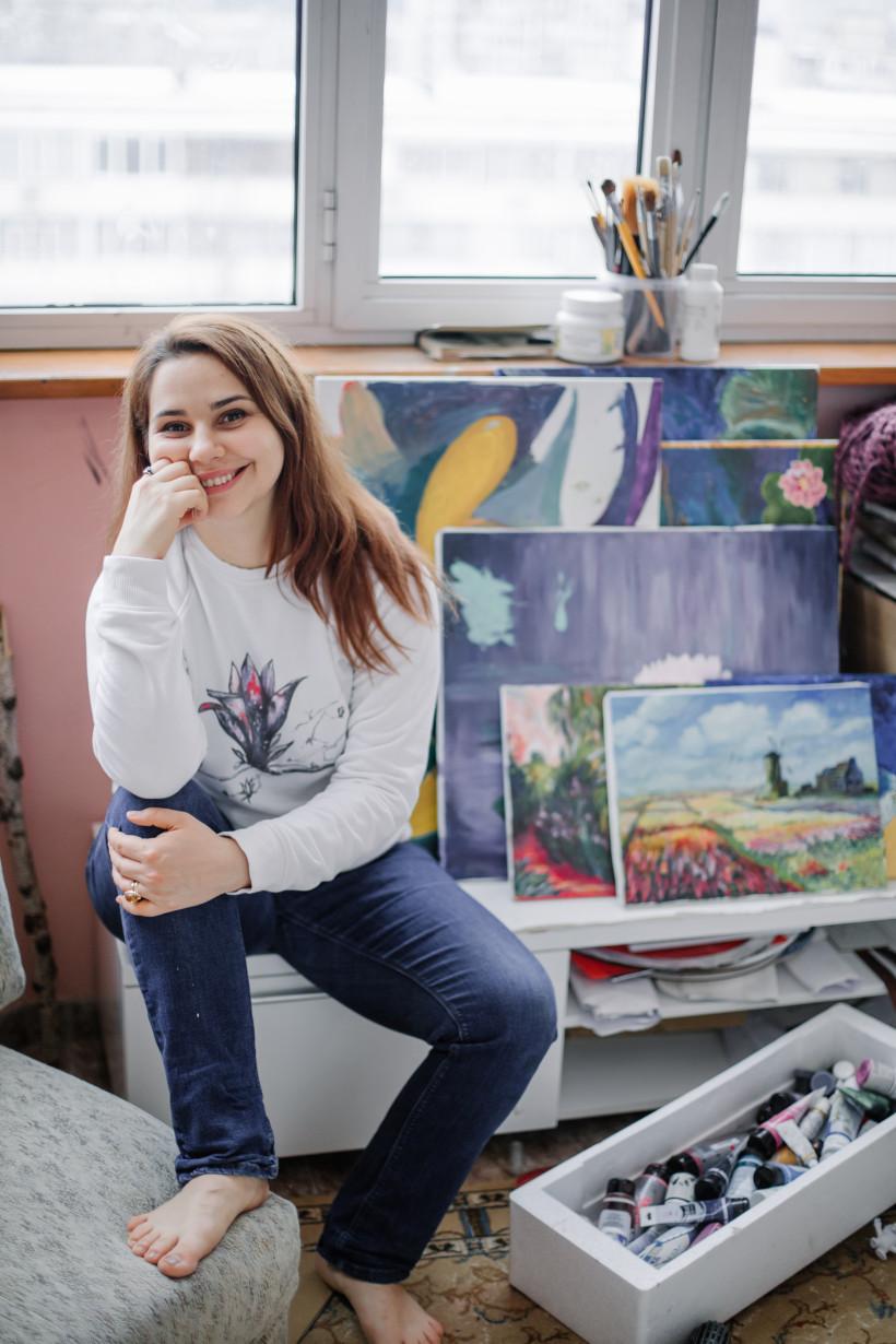 Евгения Эвоян - писательница, иллюстратор и мама