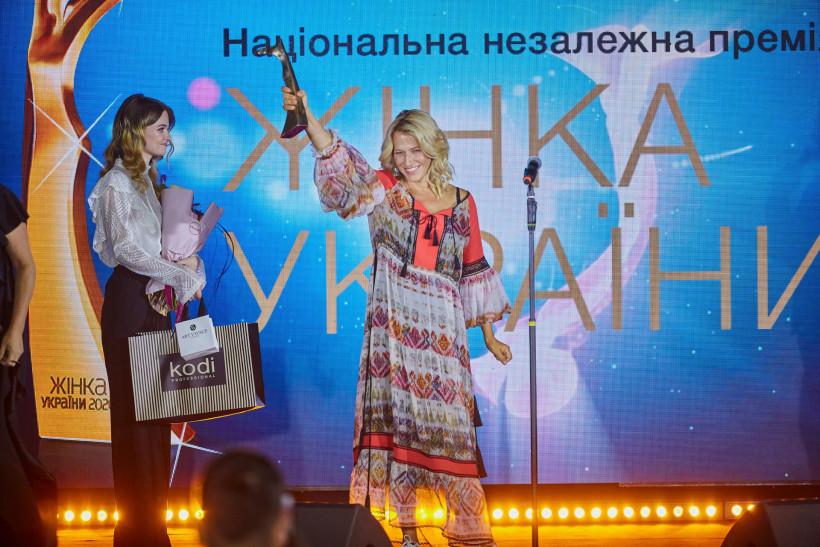 Лауреатка номінації БІЗНЕС. МЕНЕДЖМЕНТ - НАТАЛЯ ТАРЧЕНКО
