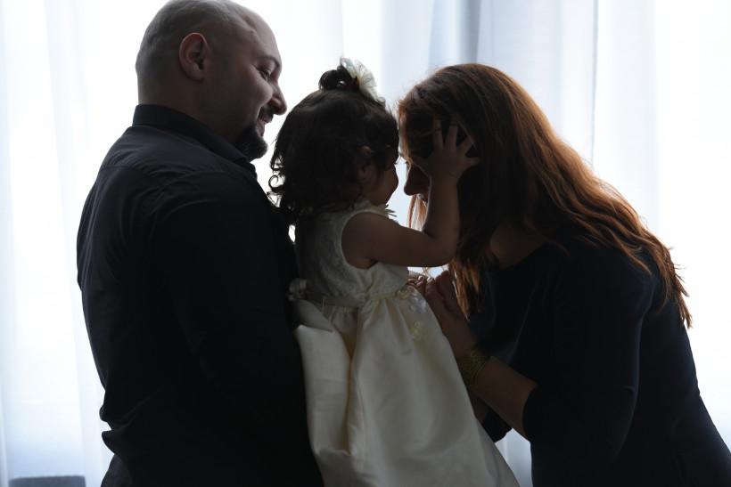 Евгения Эвоян и ее семья