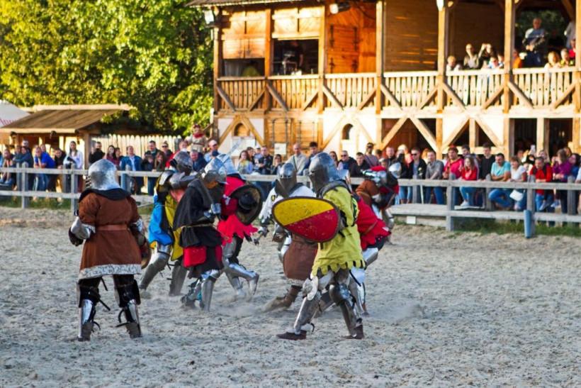 Як пройшов Фестиваль середньовічного бою «Зов героїв».