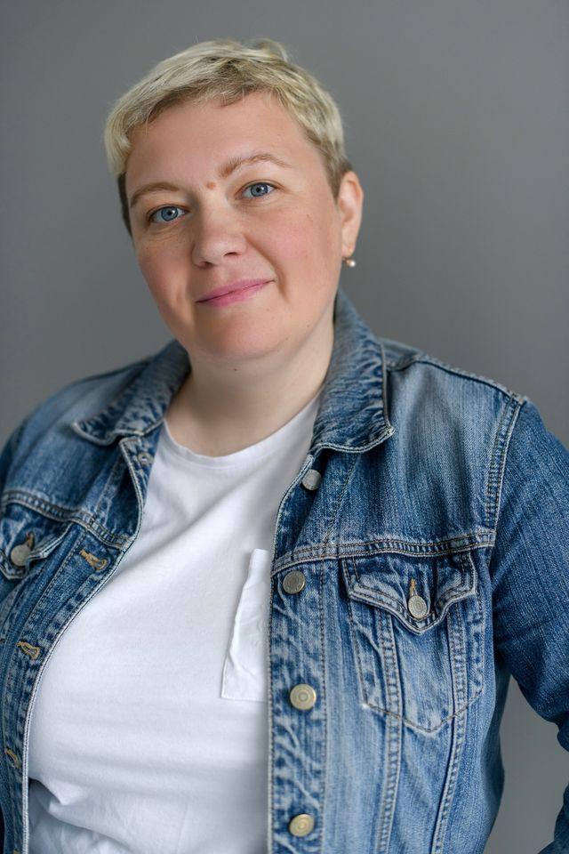 Тетяна Перетятко, викладачка мистецтва у школі повного дня КМДШ