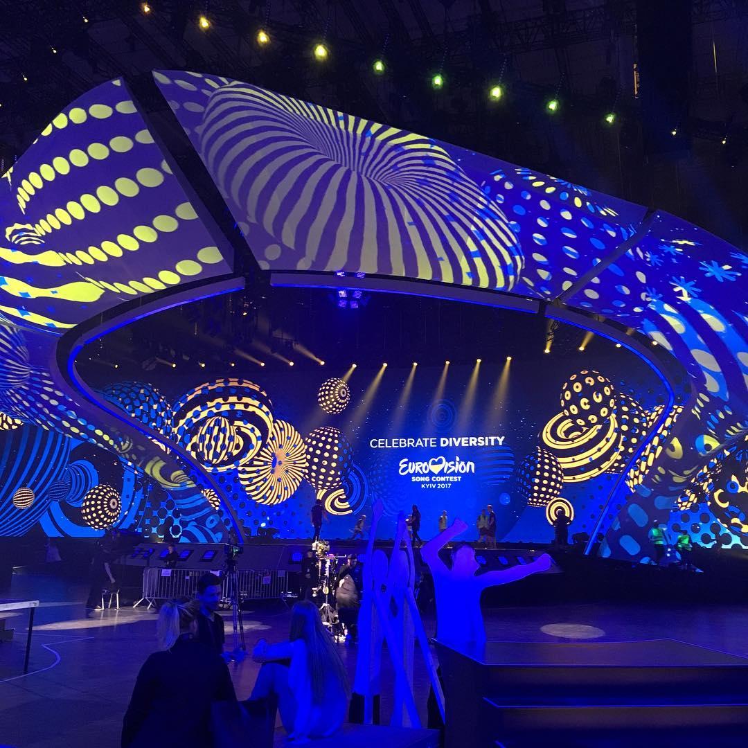 Сцена Евровидения