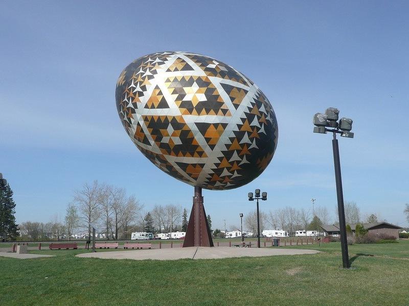 Незвичайне пасхальне яйце