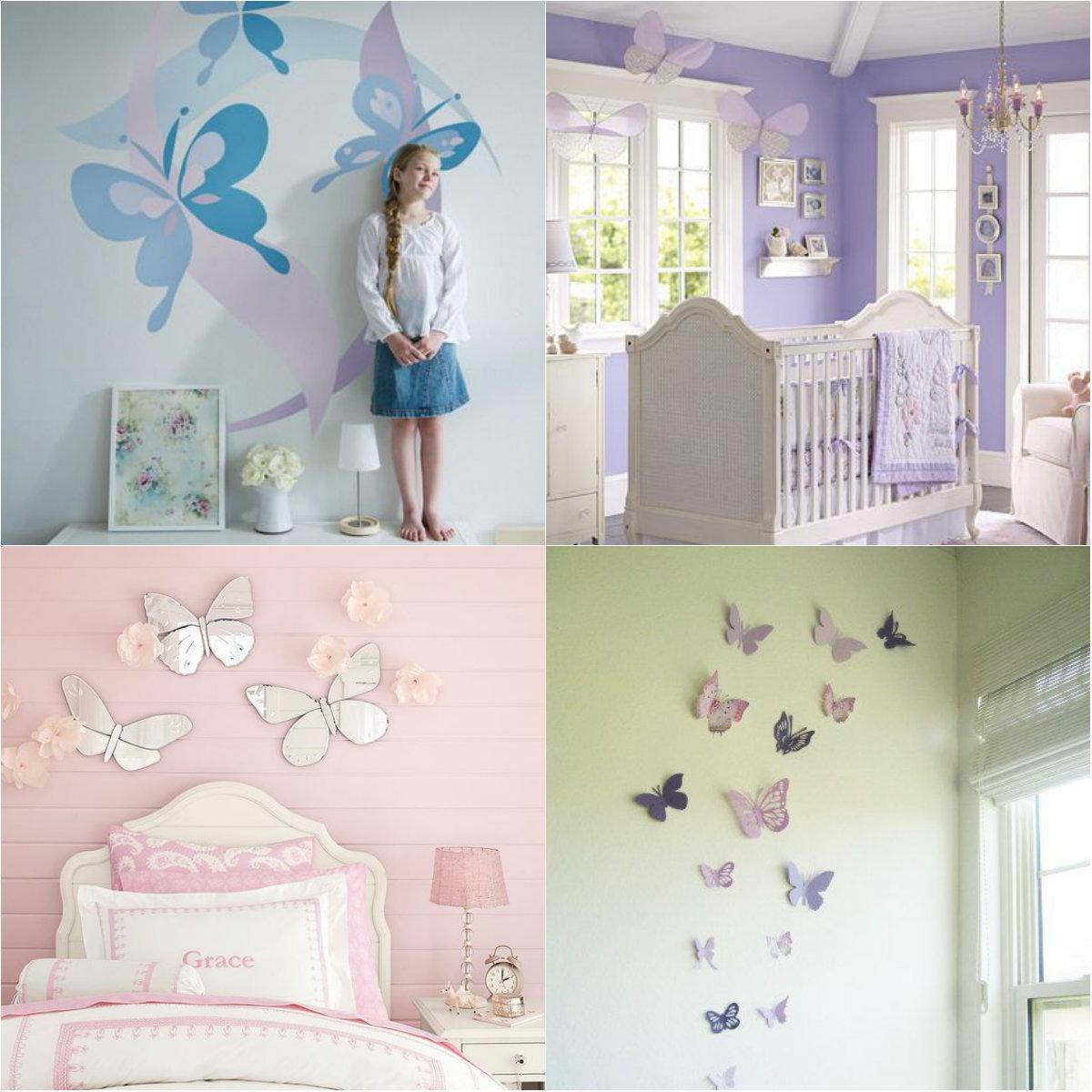 Прикрасьте стіни метеликами