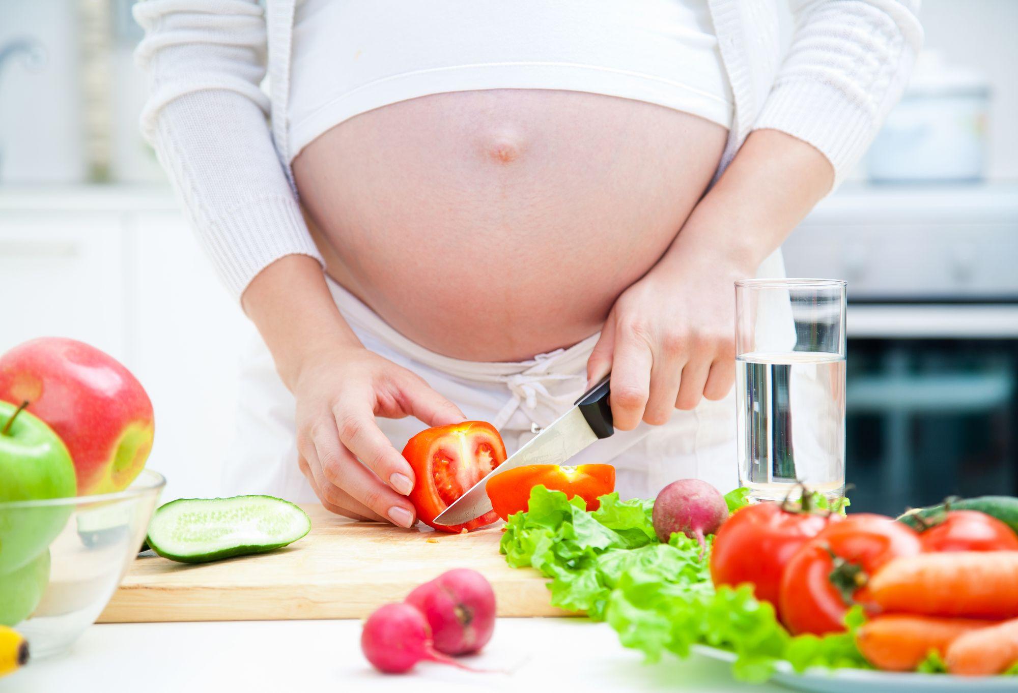 Стройность во время беременности