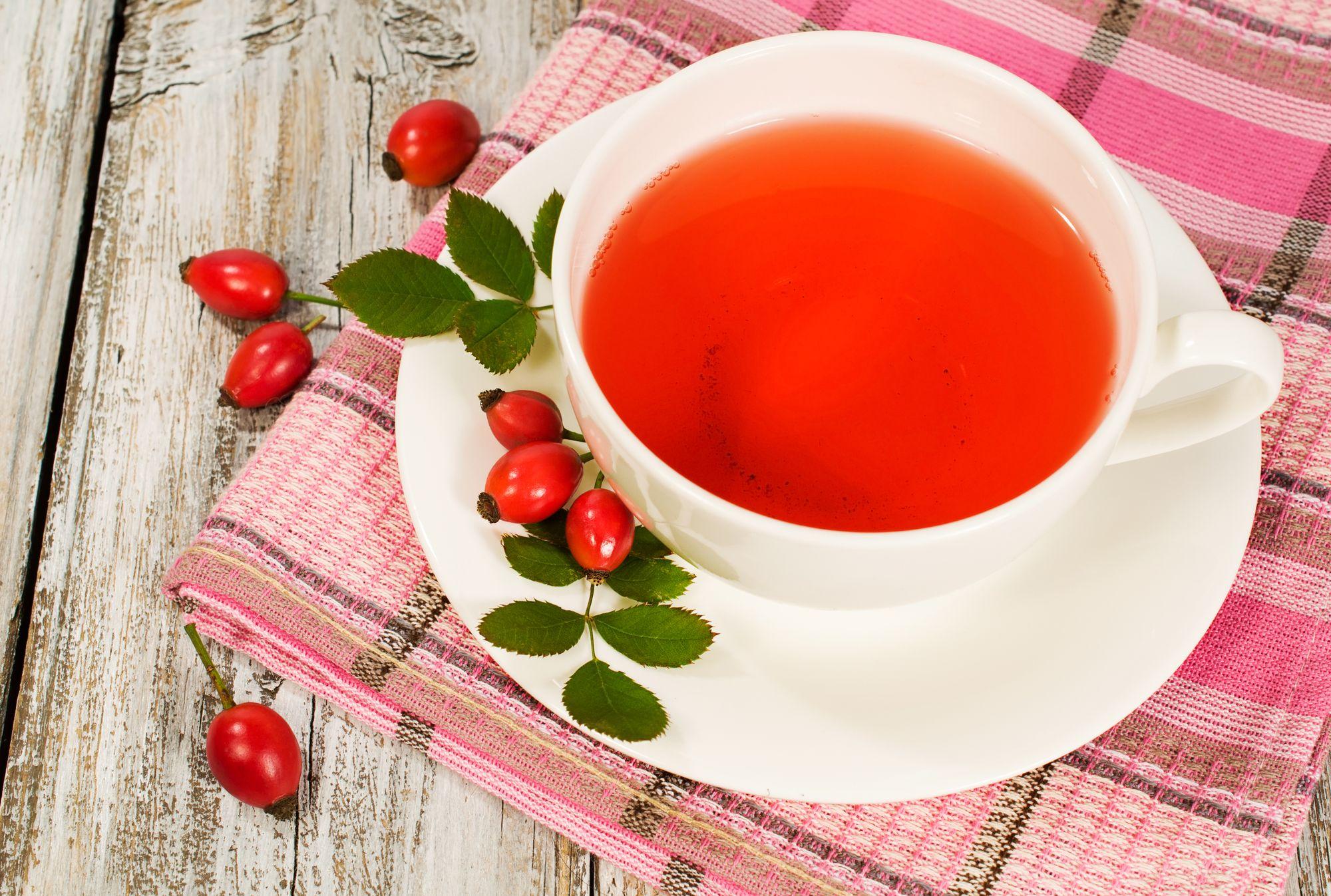 Как из шиповника сделать чай из