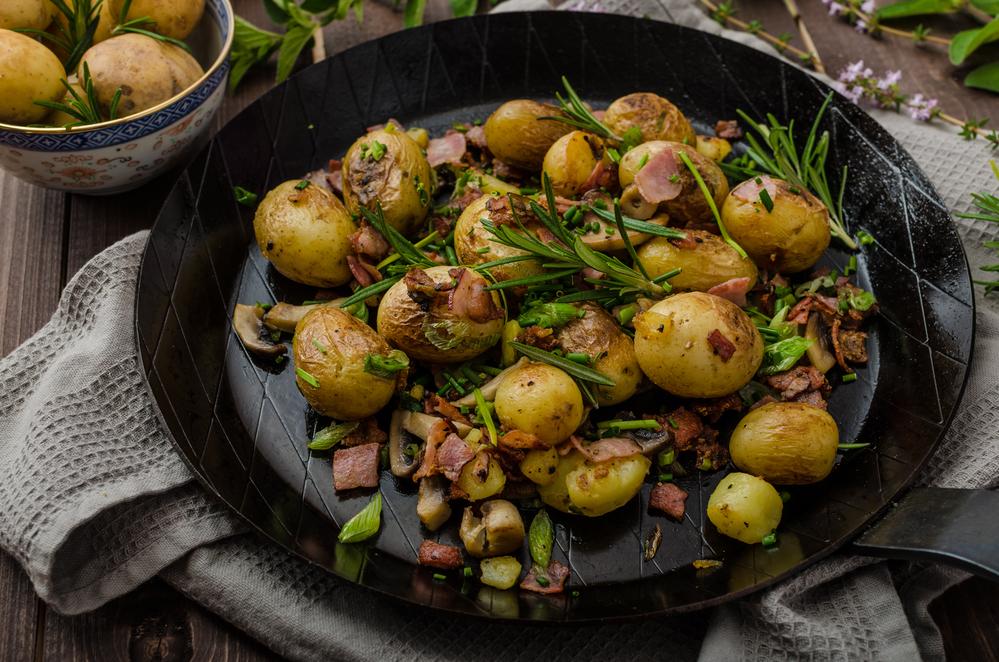 молода картопля