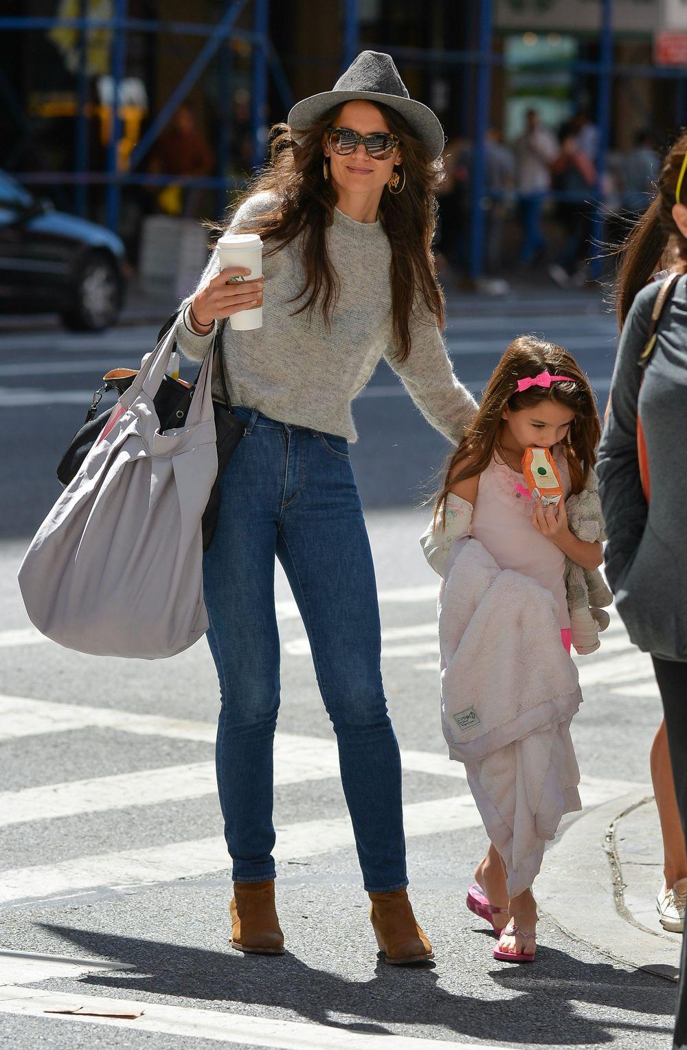 Кеті з донькою