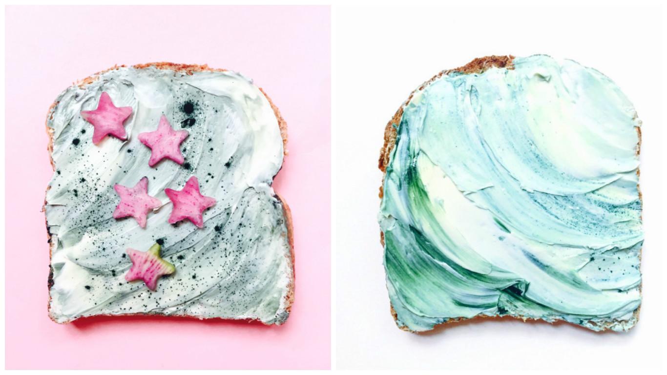 русалочные тосты