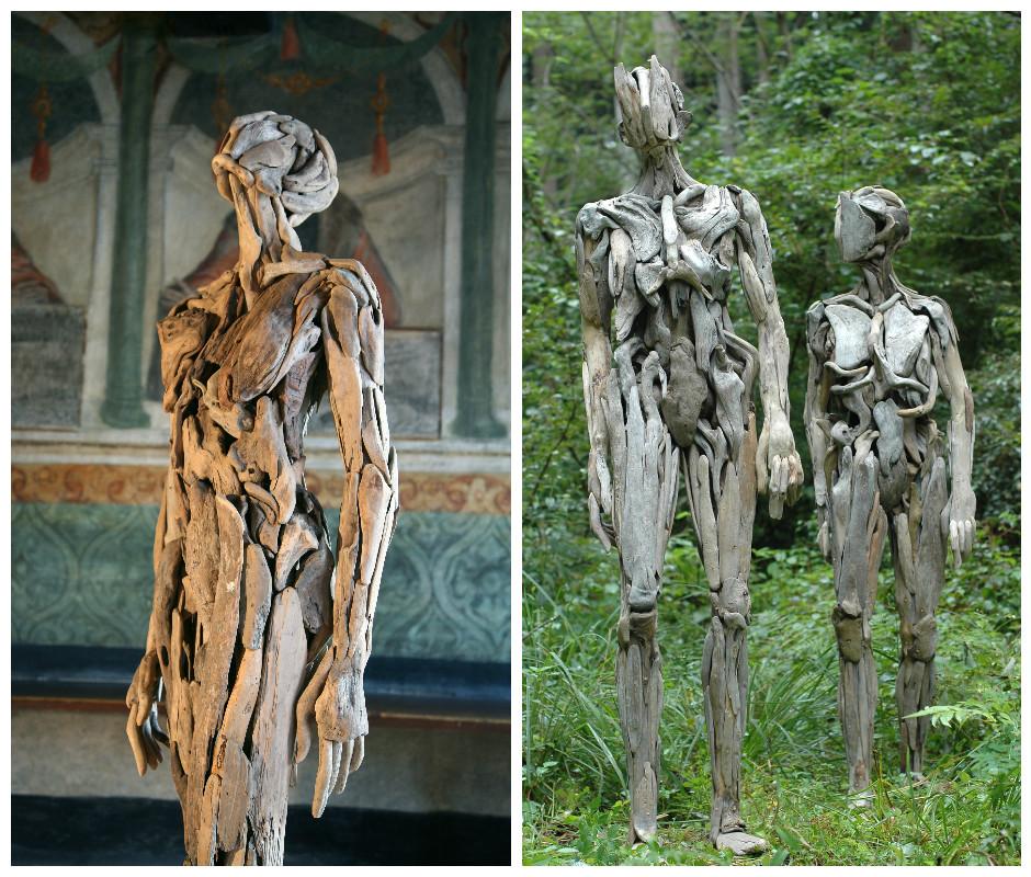скульптури з корчів