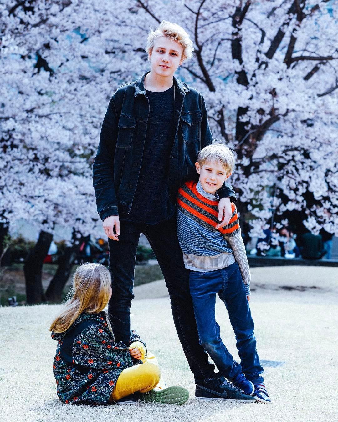 Наталья водянова фото с ребенком
