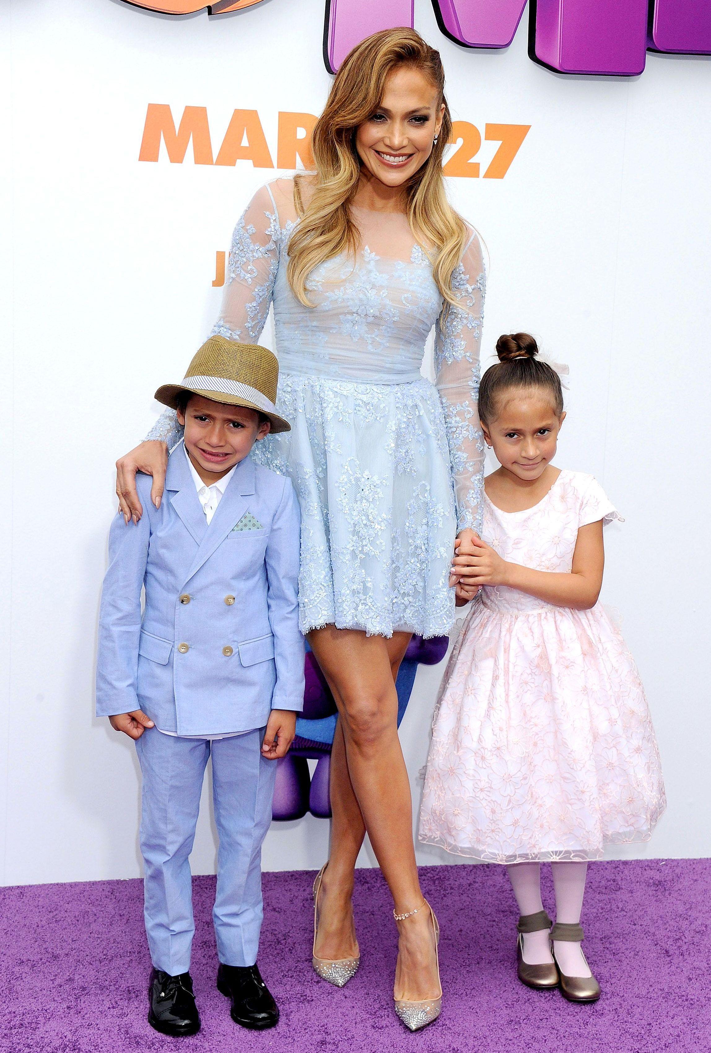 Дженнифер лопес ее дети фото