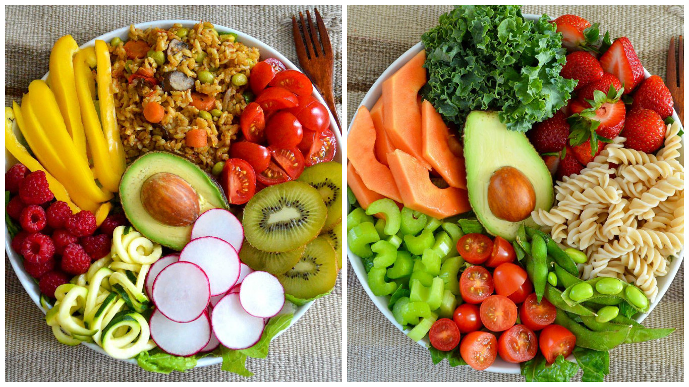 правильное питание в одной картинке есть некоторые
