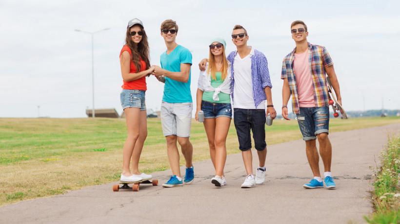 подростки любовь