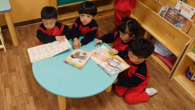детские сады в Южной Корее