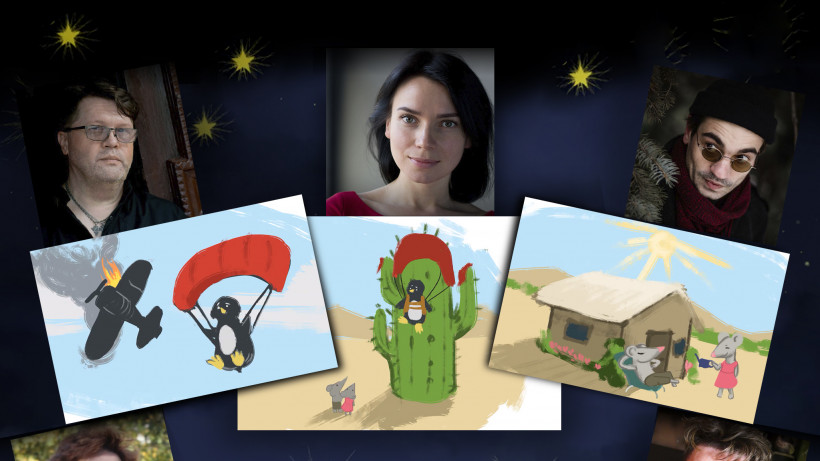 """""""Фантастичні історії на добраніч"""" — аудиосказки на ночь от Kolesiko та «Колеса» в свободном доступе"""