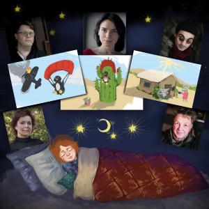 """""""Фантастичні історії на добраніч""""  - аудіоказки на ніч від «Kolesiko» та «Колеса» у вільному доступі"""