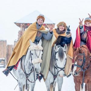 Київська Русь коні