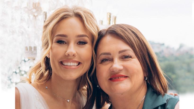 Даша Квіткова з мамою