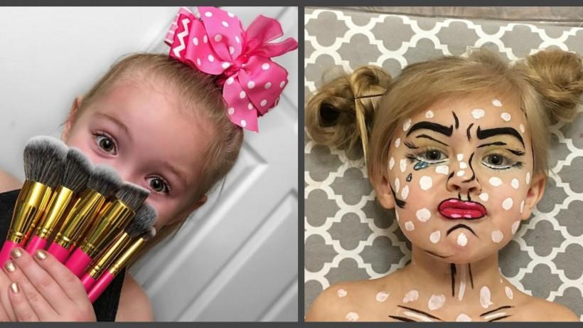 Как сделать макияж которые 9 лет 624