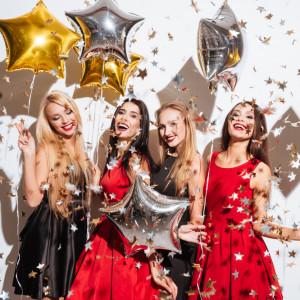 женщины новый год