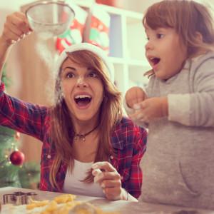 новый год мама с ребенком