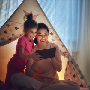 донька з мамою