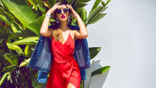 девушка лето модная