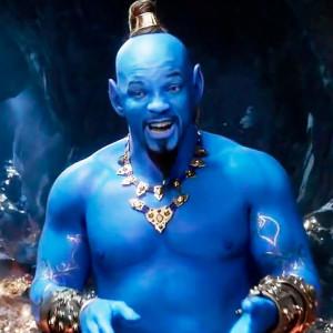 """Синій Уілл Сміт у роді джина - на Гремі презентували новий трейлер """"Алладина"""""""